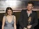 Oscar - Markéta Irglová a Glen Hansard si užívají potlesku poté, co zahráli