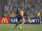 DÉ��. Zápas Ukrajina - Francie se hrál ve velkém de�ti.