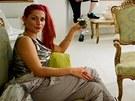 Adéla Babanová porotu včele sjejím předsedou, kurátorem newyorské MoMA...