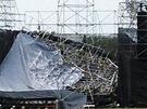 V kanadském Torontu se zřítilo pódium před koncertem britských Radiohead