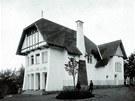 Vila Vendelína Máchy, Bechyně (1902–1903): objednavatelem vily Vlasta vzniklé