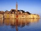 Rovinj, velmi kvalitní reprezentant Istrie. Barvami připomíná Benátky.