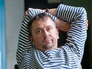 Rozhovor s herci z nového snímku Polski film režiséra Marka Najbrta. Na snímku...