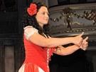 Lucie Bílá v muzikálu Carmen