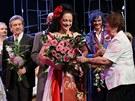 Lucie Bílá dostala při derniéře Carmen květiny od maminky