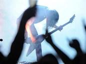 Na plzeňském Metalfestu 2012 zahrála také kapela Kreator.