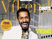 Titulní strana nového Víkendu - Yemi.