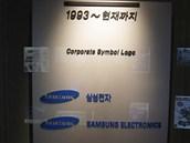 Logo Samsung pou��van� od roku 1993 do sou�asnosti