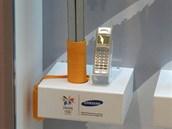 Olympijsk� telefony Samsung - Nagano