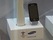 Olympijsk� telefony Samsung - Vancouver