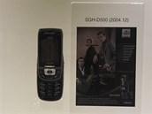 Modely Samsung, kter�ch se prodalo v�ce ne� 10 milion� kus� - SGH-D500 (2004)