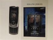 Modely Samsung, kter�ch se prodalo v�ce ne� 10 milion� kus� - SGH-J700 (2008)