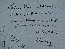 Vzkaz ministra zahrani�� Karla Schwarzenberga na Zdi Pussy Riot