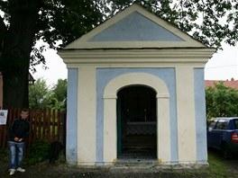 Zrenovovaná kaplička ve vítkovské místní části Nové Těchanovice.