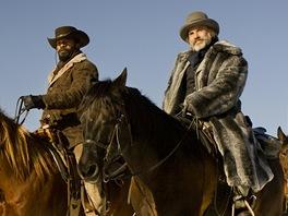 Jamie Foxx a Christoph Walz ve filmu Django Unchained