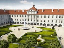 Vizualizace: Takto měl po rekonstrukci vypadat zámek Buštěhrad na Kladensku.