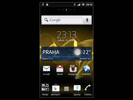 Displej Sony Xperia U