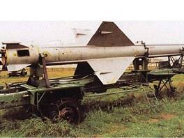 Řízená střela sovětského systému S-25 nebyla o nic menší