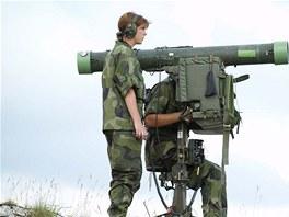 LOSB používá PL švédský systém RBS-70, který má ve výzbroji i česká armáda