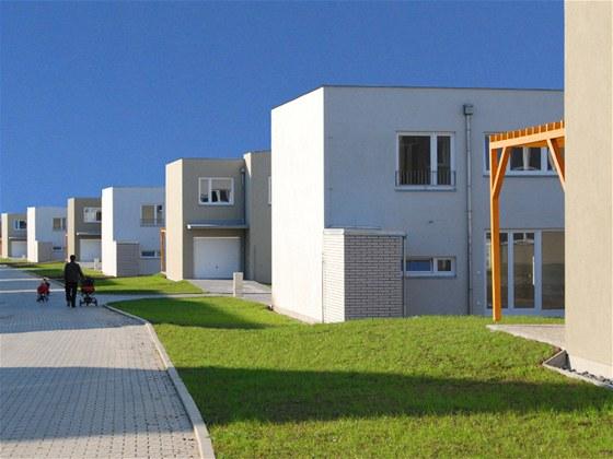 Domy ve Zlatnické - 1 a 2