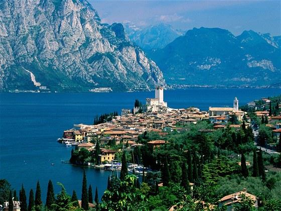 Jezero Garda Malcesine Italy