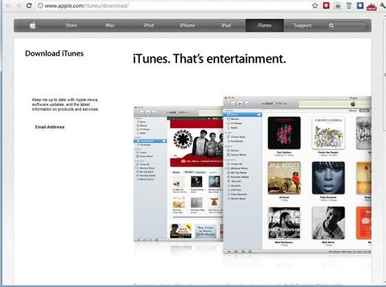 iTunes pro Windows
