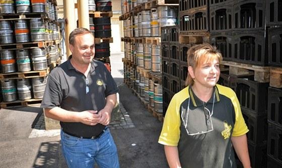 Eva Zedková šéfuje v černohorském pivovaru laboratoři. Se svým mužem prošla již