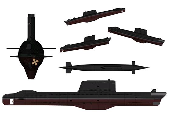 Sovětská ponorka třídy Golf II