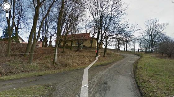 Street View - Kostelec nedaleko Jičína