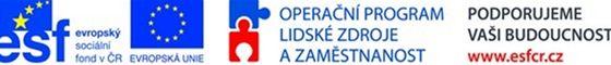 logo Operační program lidské zdroje a zaměstnanost