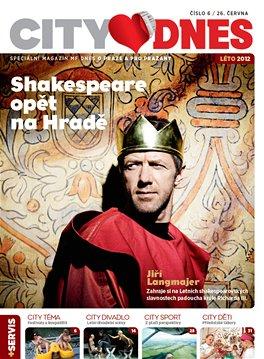 Titulní strana magazínu City DNES na červen 2012