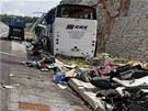 Nehoda českého autobusu v Chorvatsku, při níž zahynulo 8 lidí. (23. června