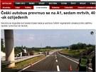 Nehoda �esk�ho autobusu ve st�edn�m Chorvatsku (23. �ervna 2012)