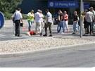Rekonstrukce nehody lobbisty Janouška v pražské Vyskočilově ulici (23. června
