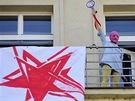 Happening na podporu Pussy Riot (Praha, 19. června 2012)