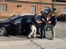 GIBS zadr�ela 9 lid�, t�i z nich byli policist�