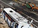 Policie vy�et�uje nehodu �esk� autobusu v Chorvatsku, p�i n� zahynulo 8 lid�...