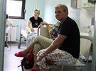 �e�t� turist� v nemocnici v chorvatsk� Gospi�i po nehod� autobusu, p�i n�...