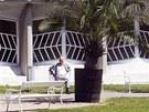 Gočárův pavilon v Lázních Bohdaneč
