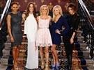 Spice Girls:  Melanie Brownov�, Melanie Chisholmov�, Geri Halliwellov�, Emma Buntonov� a Victoria Beckhamov�