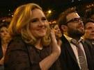 Adele s přítelem Simonem Koneckim