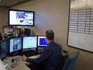 Dohledové centrum (Surveillance Center) v kasínu Aria, Las Vegas