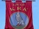 Znakem Krku je sova. Je to historický symbol Atény, řecké bohyně moudrosti.