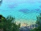 Tyrkysové moře u břehů Kassandry