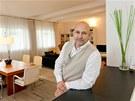 Architekt Roberto Ciampella, který se ujal proměny zchátralé vily.