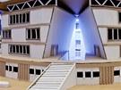 Sout� o nejlep�í �kolní budovu z ekologické lepenky. Návrh student� z...