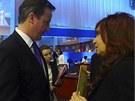 Argentinská prezidentka se na summitu G20 střetla s britským premiérem kvůli