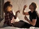David Deyl si během natáčení klipu k písni Počítám užil i lehké erotiky.