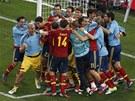 JSME ZASE VE FINÁLE! Fotbalisté Španělska právě postoupili do třetího finále...
