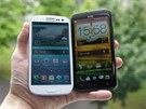 Samsung Galaxy S III a HTC One X